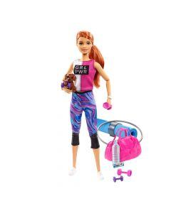 """Ігровий набір Барбі """"Фітнес"""" з серії You can be, Barbie GKH73/GJG57"""
