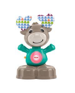 """Інтерактивна іграшка """"Музичний лось"""" серії Linkimals, Fisher Price GFG03"""