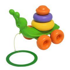 """Розвиваюча іграшка """"Равлик"""" 8 ел., Tigres 39770 (зелена)"""