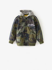 Куртка с камуфляжным принтом для мальчика