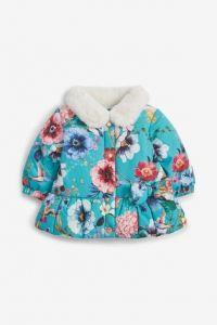 Демісезонна куртка-піджак на плюшевій підкладці для дівчинки
