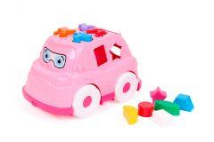"""Розвиваюча іграшка """"Автобус-сортер"""" (рожевий), ТехноК 5903"""