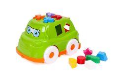 """Розвиваюча іграшка """"Автобус-сортер"""" (зелений), ТехноК 5903"""