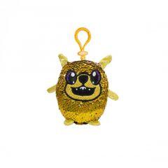М'яка іграшка з паєтками - Eнергійний Мопс (9см.), SHIMMEEZ SH01052P