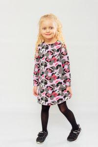 """Трикотажне плаття для дівчинки """"Minnie Mouse / Мінні Маус"""" , 6004-055-v1"""