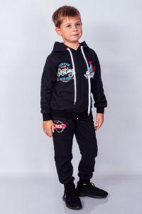 Трикотажний костюм з начосом для хлопчика (темно-синій), p-6018-023-33-1-v