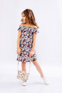 Трикотажне плаття для дівчинки, 6027-002-v1