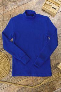 Трикотажний гольф для дитини (синій), a-04-950-18БМ-v