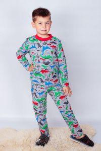Піжама для хлопчика  з легкою махровою ниткою , 6076-024-4-v1