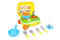 Іграшка «Кухня з набором посуду», ТехноК, 6078