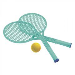 """Гра """"Теніс з ракетками і м'ячем"""", Ecoiffier 000190 (бірюзовий)"""