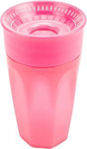 Чашка-непроливайка 360° (рожева), 300 мл, Dr. Brown's TC01039-INTL