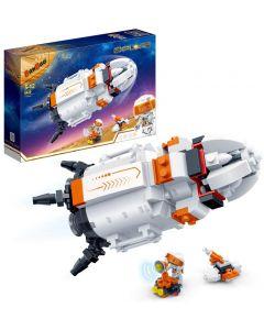 """Конструктор """"Космічні дослідження /ракета з екіпажем"""", Banbao 6420"""