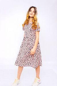 Трикотажне плаття для дівчинки , 6257-002-v1