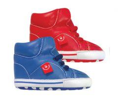 Пінетки-чобітки для малюка (червоні), Bobobaby ZB-101