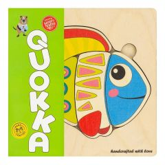 """Дерев'яний пазл-мозаїка """"Риба"""", Quoka011PM"""
