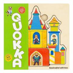 "Дерев'яний пазл-мозаїка ""Казковий замок"", Quoka012PM"