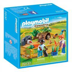 """Ігровий набір """"Загін з домашніми тваринами"""" (37ел), Playmobil 70137"""