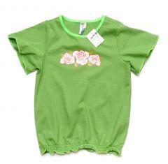 Трикотажна футболка для дівчинки, 121-551