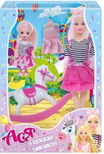 Набір лялька Ася з серії Прогулянка верхи 35104