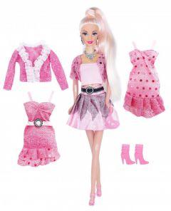 Набір лялька Ася з серії Рожевий стиль, 35080