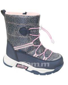 Теплі чобітки для дівчинки, C-T9373-C