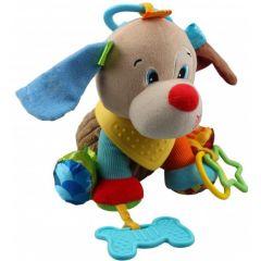 """Мягкая игрушка с прорезывателем собачка """"Павлуша"""" серия """"Активная жизнь"""" Balibazoo 81589"""