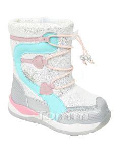 Теплі чобітки для дівчинки, C-T7938-A