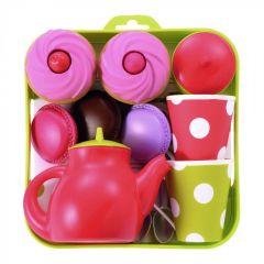 Набір посуду з тістечками 12 ел., Ecoiffier 000960