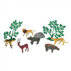 "Набір тваринок ""Зоопарк"" (з левом), Simba 104341202"