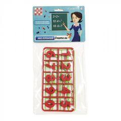 """Дитячий набір """"Маленький учитель"""" (Цифри і Знаки) 30 ел., Numo Toys NT22481"""
