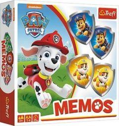 """Настільна гра мемос - """"Щенячий патруль"""""""", Trefl 01892"""