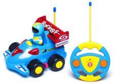 Моя перша гоночна машина на Р/У (синя), BeBeLino 58040