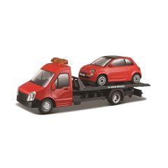 """Ігровий набір - """"Автоперевізник з  автомоделлю FIAT"""", BBURAGO 18-31402"""