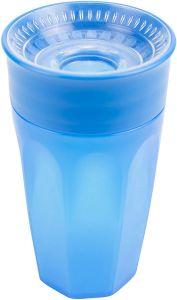 Чашка-непроливайка 360 ° (блакитна), 300 мл, Dr. Brown's TC01040-INTL