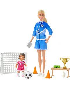 """Ігровий набір Барбі """"Тренер з футболу"""" із серії You can be, Barbie GLM53/GLM47"""