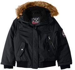 Тепла зимова куртка-бомбер