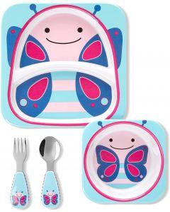 """Подарунковий набір дитячого посуду """"Метелик"""", Skip Hop 9L751510"""