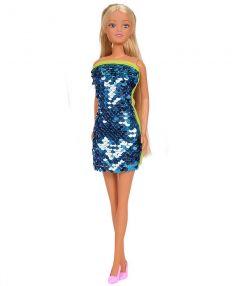 Лялька Штеффі в платті з двосторонніми паєткам (ментолове), Steffi Love 105733366