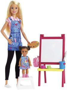 Лялька Барбі вчитель малювання, із серії Barbie You can be, DHB63 / GJM29
