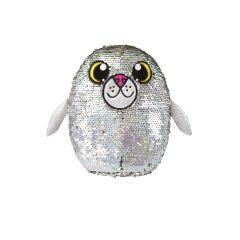 М'яка іграшка з паєтками  - ТЮЛЕНЬ БЛИСКІТКА (20см.), SHIMMEEZ SH01053S