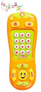 """Розвиваюча іграшка """"Мій перший музичний пульт"""" (бірюзовий), BeBeLino 58104"""