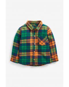 Цупка котонова сорочка для хлопчика