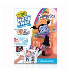 """Книга-розмальовка з чарівними фломастерами """"Вампіріна"""", Crayola 75-2396"""