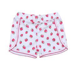 Стильні трикотажні шортики для дівчинки (полуниця), Minikin 200703