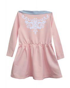 Трикотажне плаття  для дівчинки, 7867