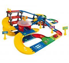 Ігровий набір Kid Cars 3D - Мультіпаркінг з дорогою (9,1 м), Wader 53070