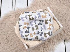"Подушка для новонароджених ""Класик"" (лисички), MagBaby 130273"