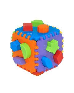 "Іграшка-сортер ""Educational cube"" 24 ел., Tigres 39781"