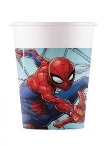 Паперові стаканчики Spiderman /Людина павук 200 мл (8 шт), 91044